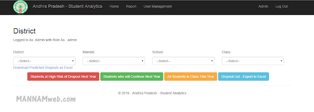 Andhra Pradesh - Student Analytics - Check your Students Status    These  are analytics of  students of class 6th to 9th6th to 9 th  of All type of schools private /aided/zp
