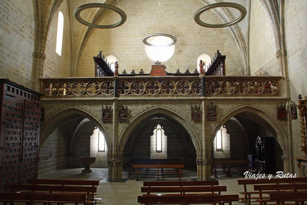 Interior de la Iglesia de Santa María de Ujué