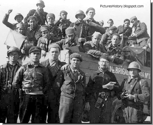 Spanish civil war  14th International Brigade Republicans 1937