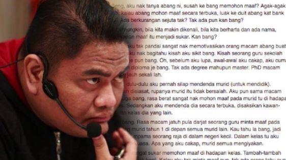 Azizan Osman Mentor Yang Sangat Mengecewakan