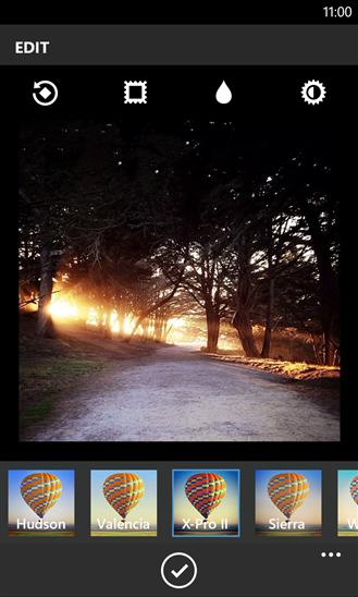 Efek-efek Instagram di Windows Phone