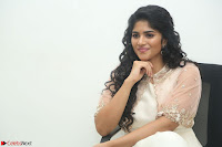 Megha Akash in beautiful Cream Transparent Anarkali Dress at Pre release function of Movie LIE ~ Celebrities Galleries 010.JPG