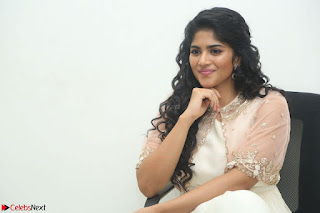 Megha Akash in beautiful Cream Transparent Anarkali Dress at Pre release function of Movie LIE ~ Celebrities Galleries