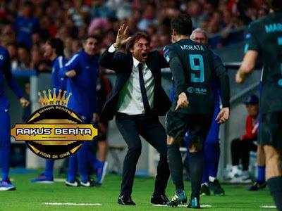 Morata Menyudul Bola Dan Menyumbang Gol Untuk Chelsea