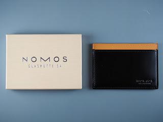 ノモス ノベルティのパスケースを買取ました NOMOS アイクレバー内蔵パスケース