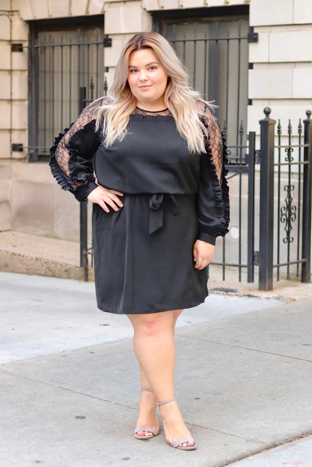 plus size fashion, plus size fashion blogger, Chicago blogger, natalie in the city, eloquii, the shops at Northbridge, eloquii Chicago, plus size dresses for work, plus size office outfits, affordable plus size clothing, curves and confidence, fatshion