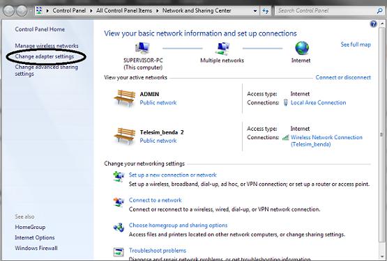 Cara Setting LAN Windows 8 untuk Berhubungan dengan Komputer Lain