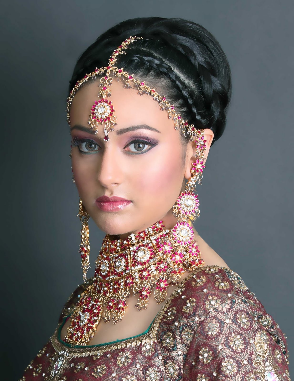 how to choose matha patti style according to face shape