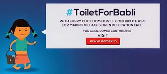 #ToiletForBabli Initiative by Domex
