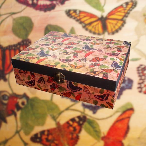 Cajas decoradas aprender manualidades es - Manualidades cajas decoradas ...