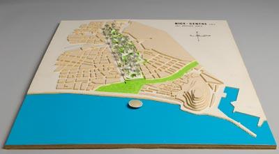 Nice, Jacques Lepage, école de Nice, Guy Rottier, 1969, projet urbanistique