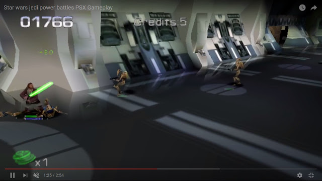 Star Wars: Jedi Power Battles - PSX - Captura 3