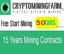 CryptoMining Farm,Free Start Mining 50 GHS