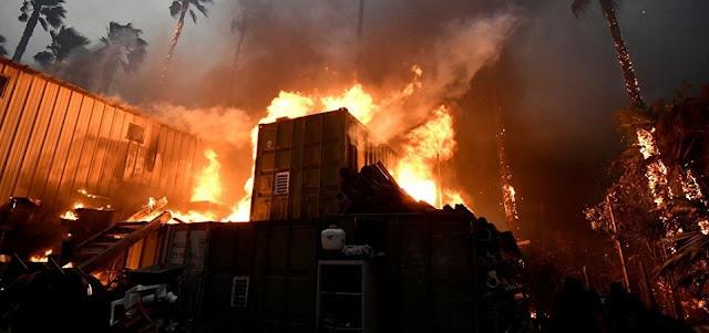 Incêndio na Califórnia já deixa 42 mortos e 228 pessoas estão desaparecidas