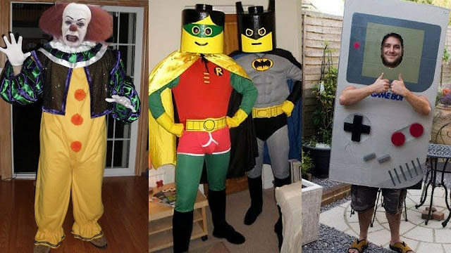 Creative Halloween costume ideas 2018