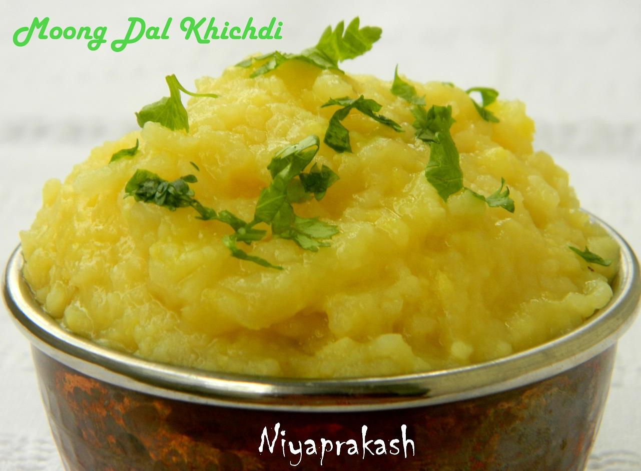 Niya's World: Moong Dal Khichdi