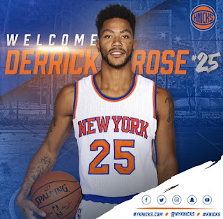 Derrick Rose to New York Knicks