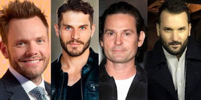 Joel McHale (Starman), Lou Ferrigno Jr. (Hourman), Henry Thomas (Doctor Mid-Nite), Brian Stapf (Wildcat)