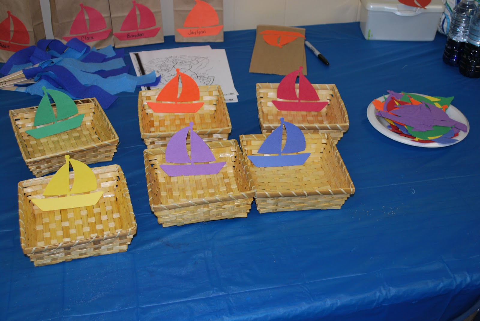 Sunday School Craft Boat