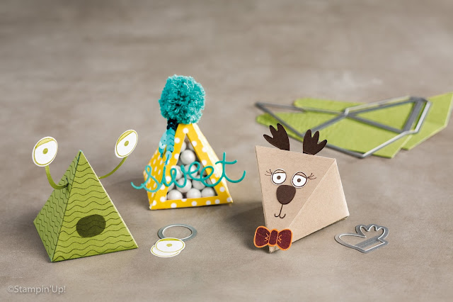 Pyramid Pals Thinlits Dies, Stampin' Up!