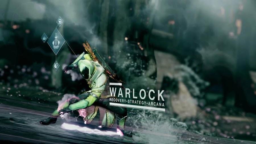 destiny 2 warlock class