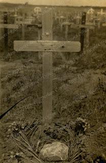 Grave marker of Captain Joseph Shea, c.1918 (DCRO DLI 7/627/2)