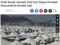 Tahun 2017 Jemaah Haji Iran Kembali bisa Berhaji
