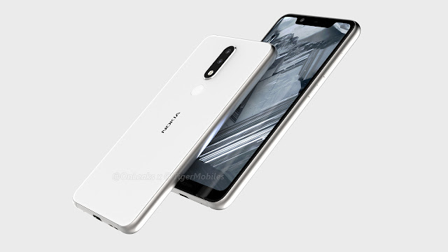 Nokia 5.1 plus with notch leaked