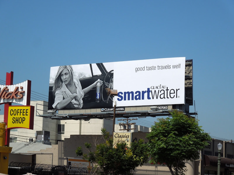 Smart Water Good taste billboard