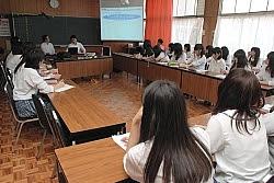ファミマものづくりアカデミースタート!ファミリーマート×屋代南高等学校