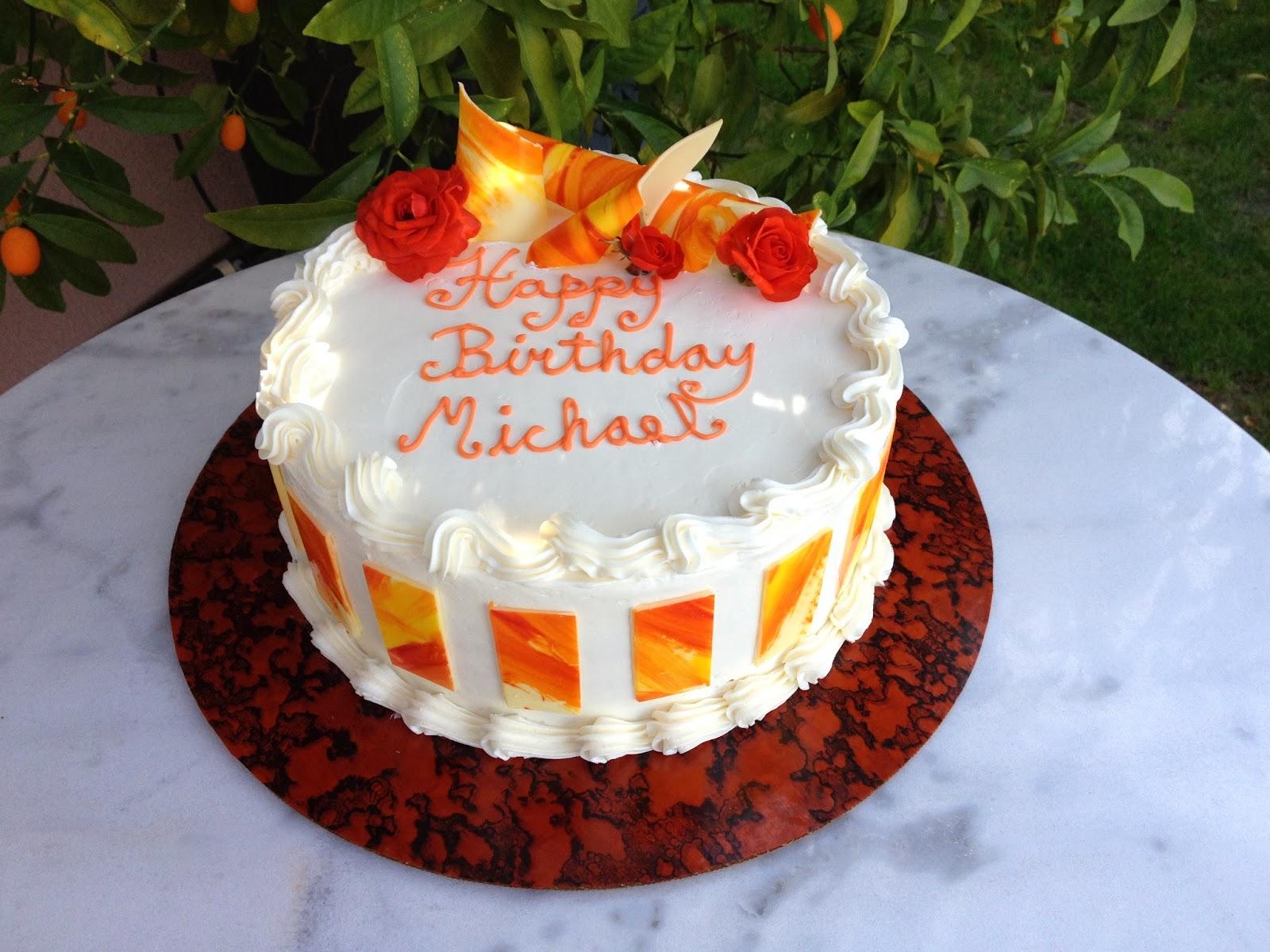Happy Birthday Cake To Michael