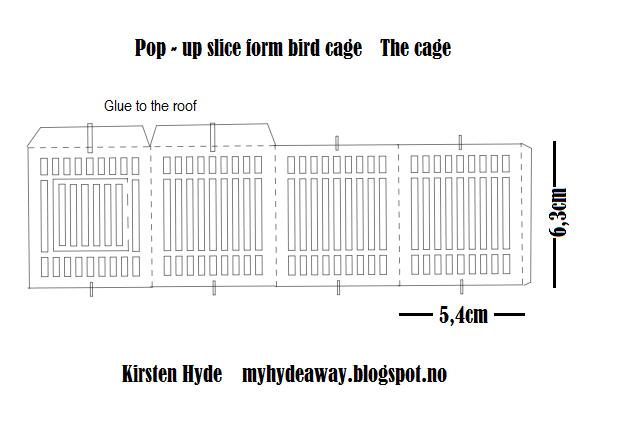 My Craft and Garden Tales: A pop-up birdcage sliceform