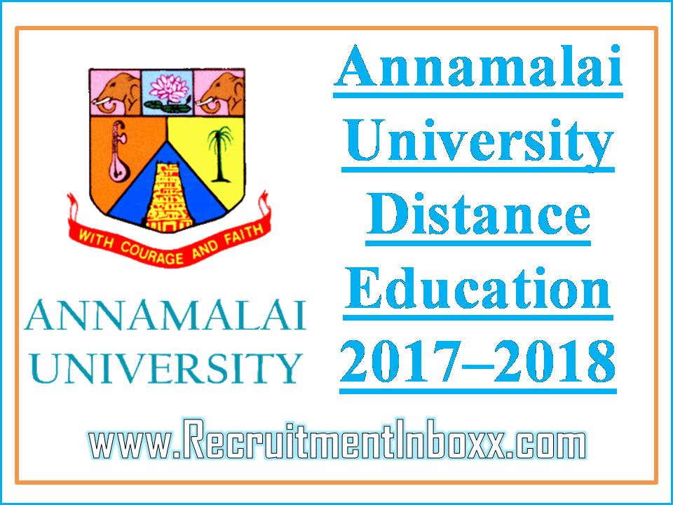 Annamalai University Distance Education