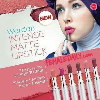 Tampil Cantik di Hari Raya Bersama Lipstik Matte Wardah