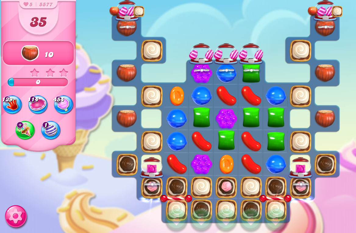 Candy Crush Saga level 5577