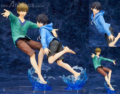 Figuras Haruka Nanase & Makoto Tachibana ALTAiR High Speed! Free! Starting Days