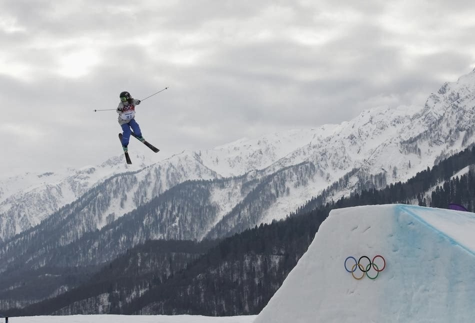 9. Totally not fake. - 22 Olympics Photos That Will Destroy Your Faith In Gravity