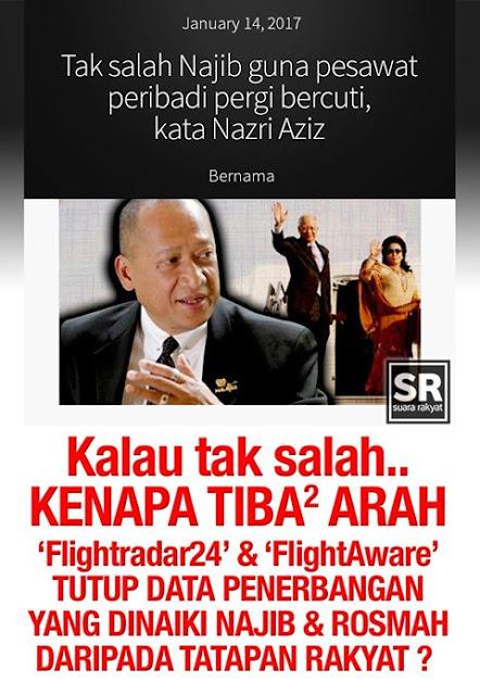 Najib Bercuti Guna Wang Rakyat