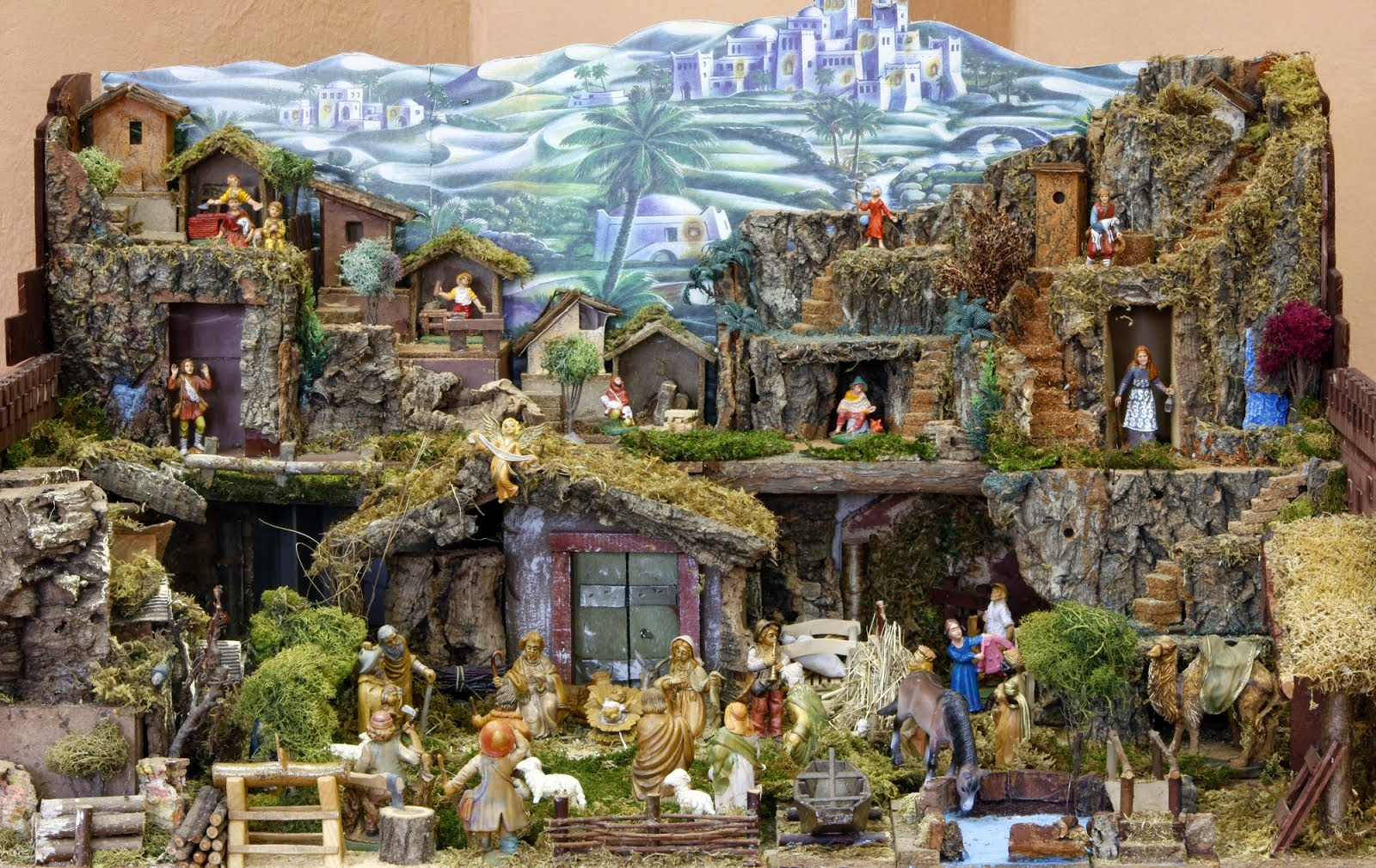 9d458a36d81 Resultado de imagen para realizar nacimiento navideño jpg 1600x1010 Navidad  grande decoraciones de nacimientos