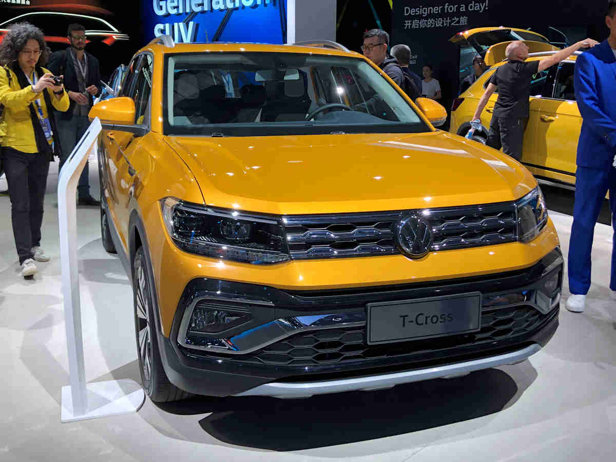 Here S A Closer Look At The 2020 Volkswagen T Cross W 13 Photos