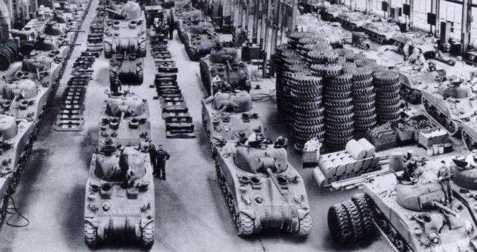 Sherman M4A2 Detroit Tank Arsenal worldwartwo.filminspector.com