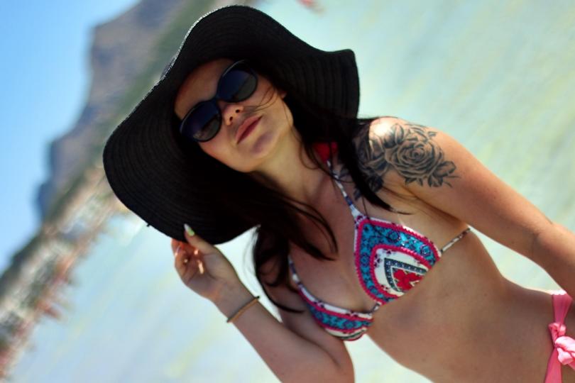 Majorka, Mallorca, Majorka plaża, Port de alcudia, alcudia beach, alcudia plaża, tui, hiszpania urlop, hiszpania tui, majorka tui, bikini, calzedonia,