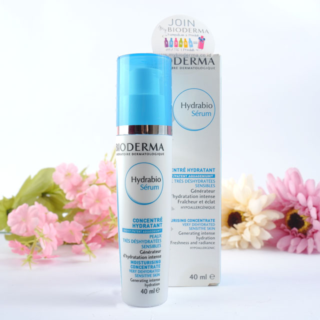 Review Bioderma Hydrabio Serum
