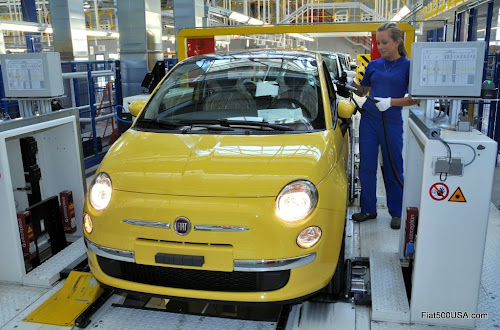 Fiat 500 Production Line
