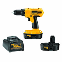 dewalt drill with extra battery