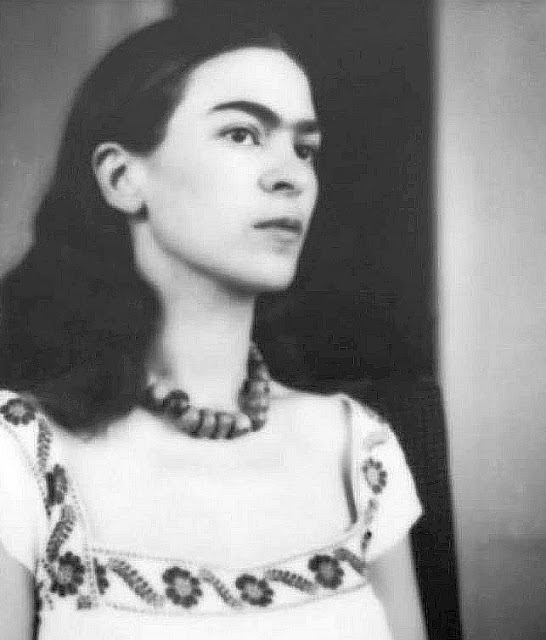 Very young Frida Kahlo
