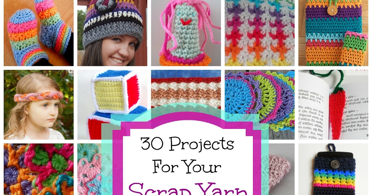 Fiber Flux  30 Free Crochet Projects for Your Scrap Yarn! 06faebd8674