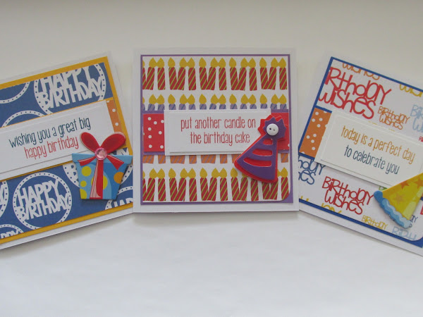 It's All About the Happy: Simple Birthday Cards