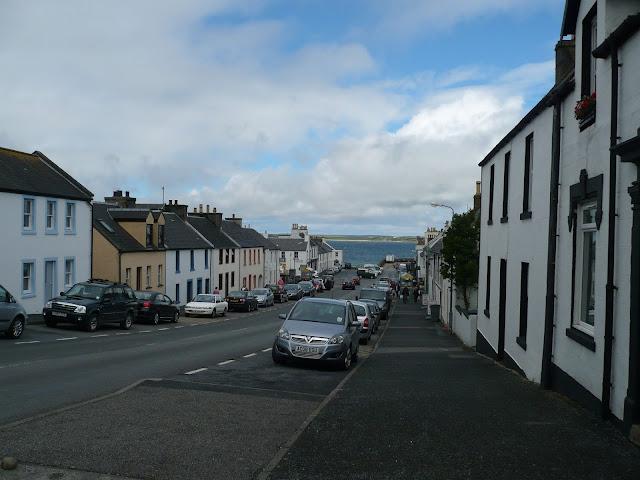 hlavná ulica v Bowmore