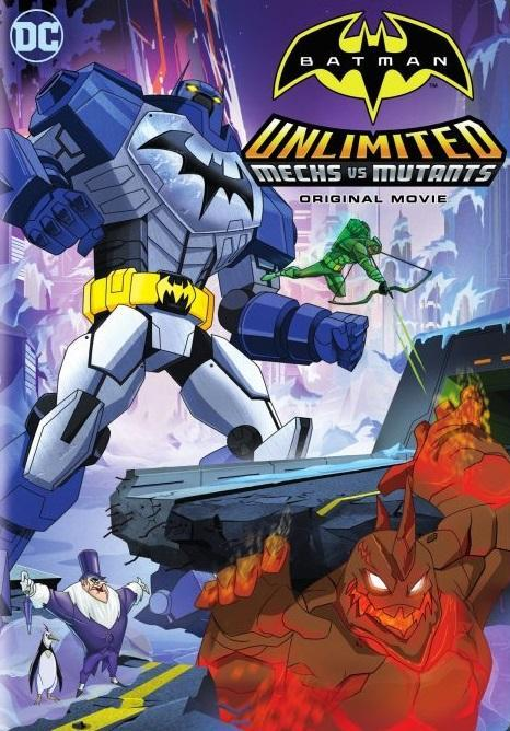 Batman Ilimitado Mecas Vs. Mutantes [2016] [BBRip 1080p]